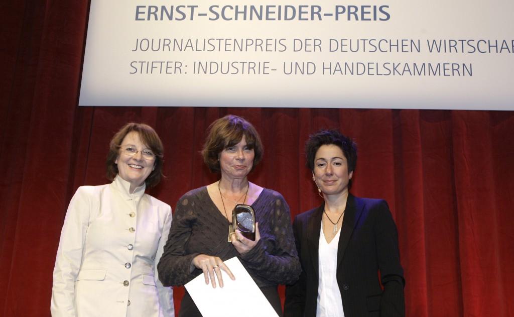 Verleihung des Ernst-Schneider-Preises in Berlin