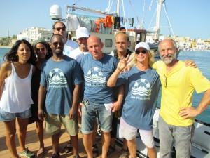 Die Crew der Seawatch