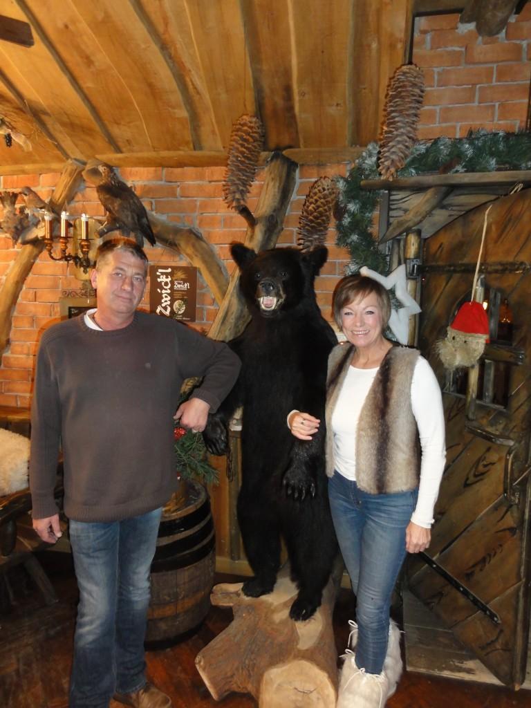 Im Wettiner Reich (also annähernd das heutige Mitteldeutschland) wurden im 17. Jahrhundert mehr als 300 wilde Braunbären erlegt, erfuhren wir von Regionalhistoriker Jörg Petermann