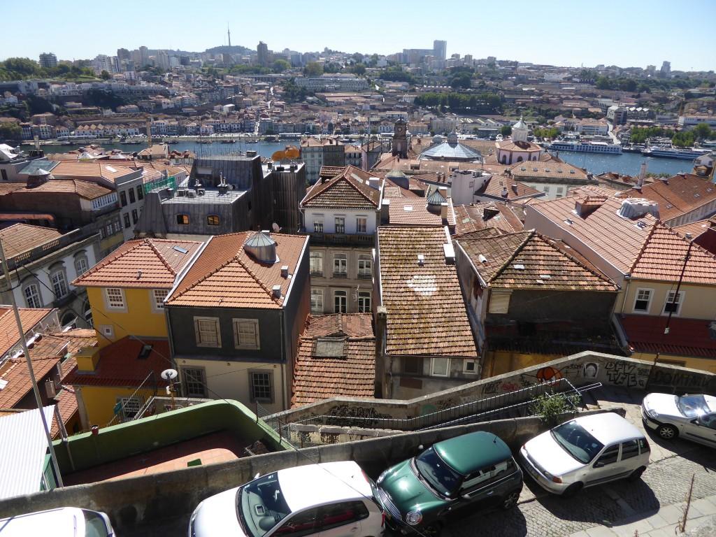 Porto, an der Mündung des Douro gelegen