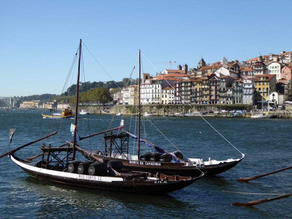 Historische Portweinschiffe