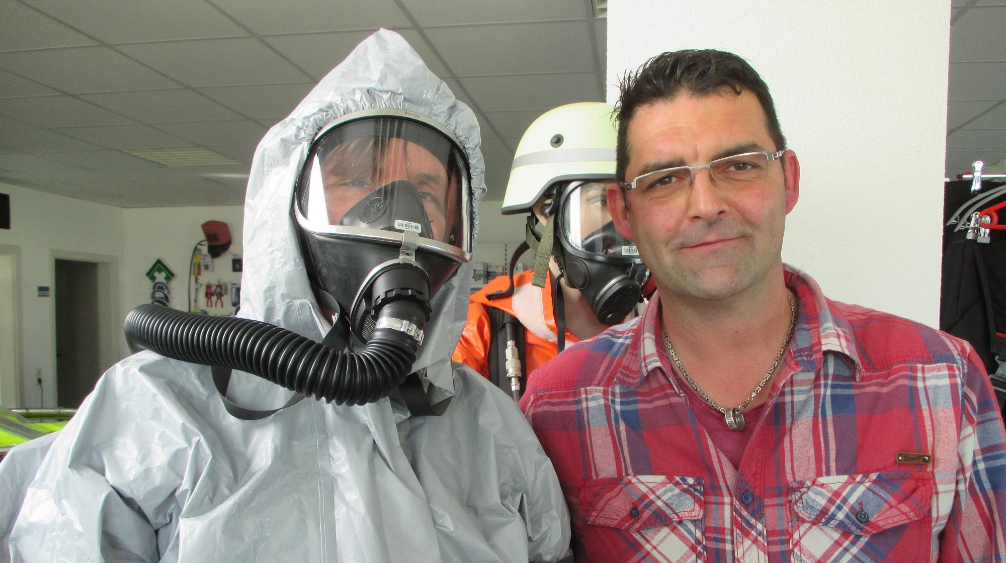 Chemikalienanzug